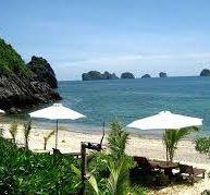 Bãi biển Tùng Thu - du lich đảo Cát Bà1