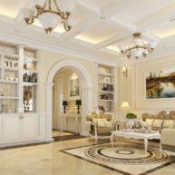 Những điều chú trọng khi sử dụng gach thảm phòng khách