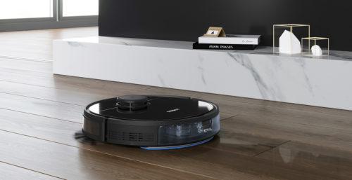 Robot hút bụi Ecovacs Deebot OZMO 960 công nghệ AI